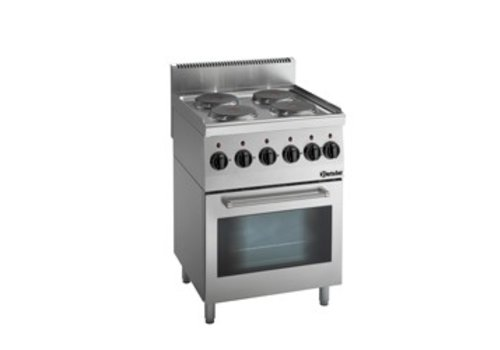 Bartscher Electric stove with oven | 4 people