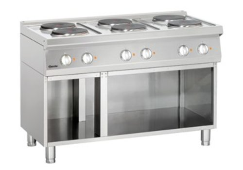Bartscher electric stove with open base | 6 records