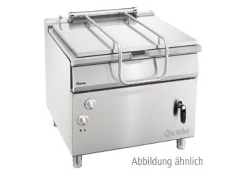 Bartscher Gas kantelbare braadpan 700 met hand bediend kantelwiel