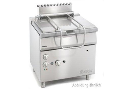 Bartscher Electric tiltable pan with tilting wheel