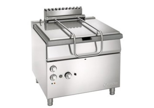 Bartscher Tiltable frying pan on gas with electrically operated tilting wheel