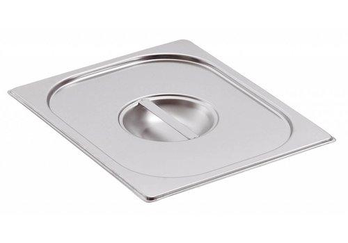 Bartscher GN Lids Stainless Steel | GN 1/4