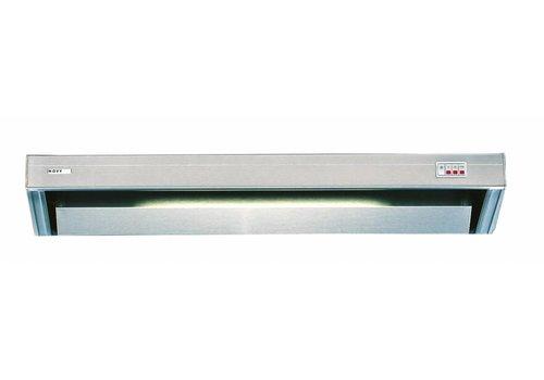 Bartscher Edelstahl-Auspuffanlage mit Beleuchtung | 60x52x17 cm