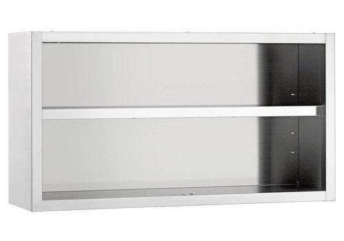 Bartscher Hangkast, open, B 1800 mm