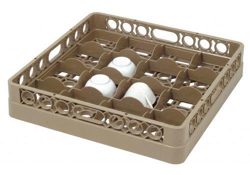 Bartscher Washing basket 16 compartments | 50 x 50 cm