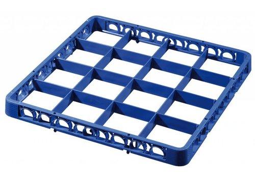 Bartscher Afwaskorf-vakken-opzetrand, donkelblauw