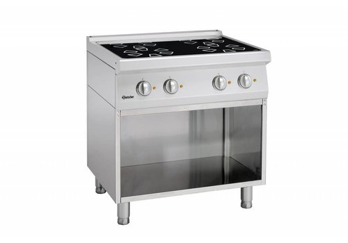 Bartscher ceramic stove with open base | 4 zones