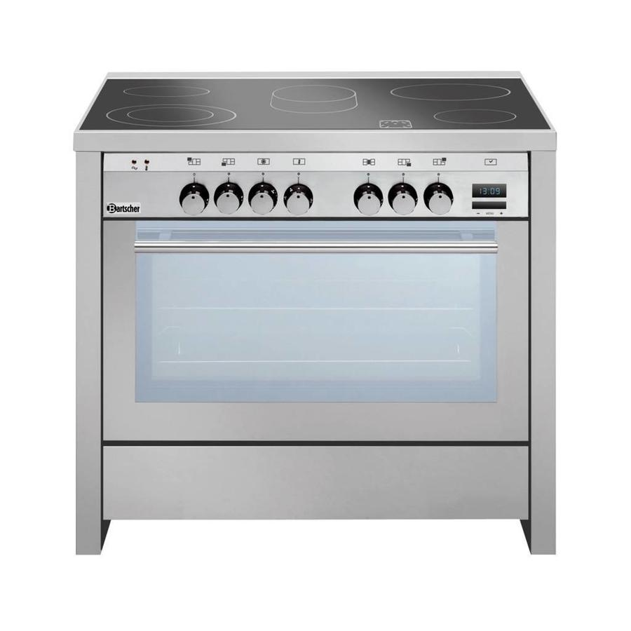 ceramic stove with multifunction oven | 5 zones