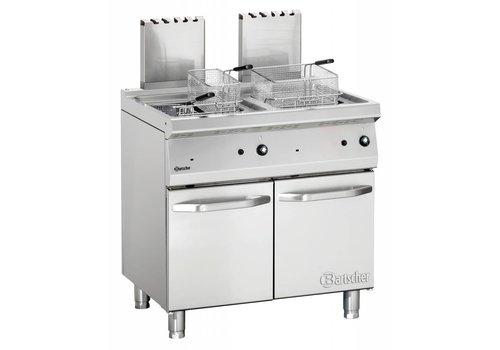 Bartscher Gas friteuse met onderbouw - 30000 Watt