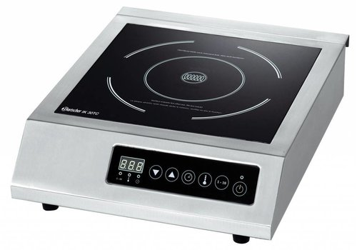 Bartscher Recessed stainless steel Induction Cooker | 3000Watt