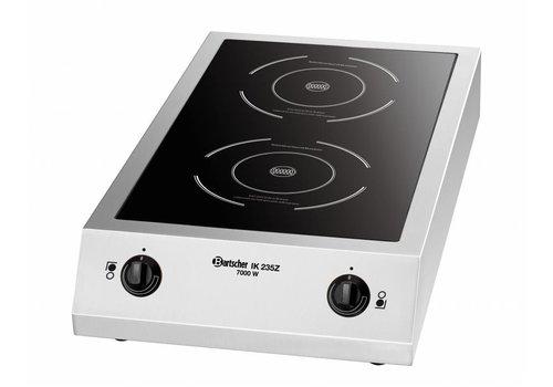 Bartscher Double-Inductive Cooking Utility 10 Stands | 7000Watt