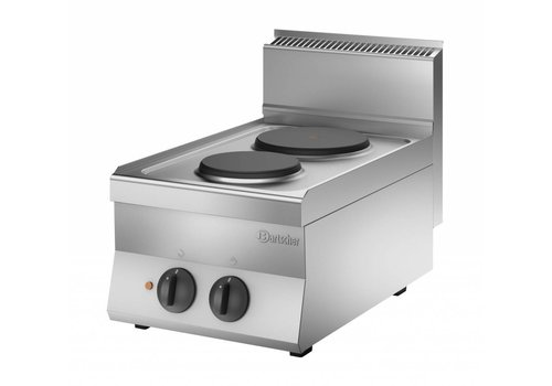 Bartscher Cooker with 2 electric hotplates