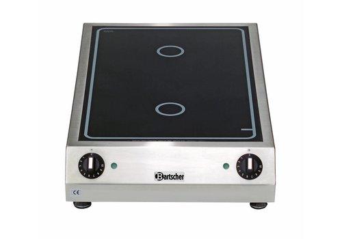 Bartscher Ceramic electric cooker | 2 zones, 3.0 kW