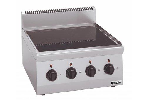 Bartscher Ceramic stove | 4 zones