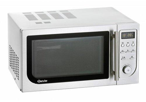 Bartscher Mikrowelle mit Ofen und Grill | 900 Watt