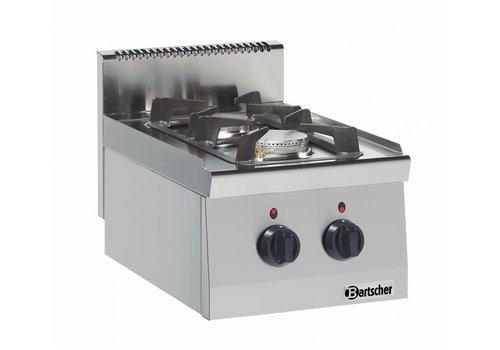 Bartscher Horeca 9,5kW Kocher | 2 Brenner