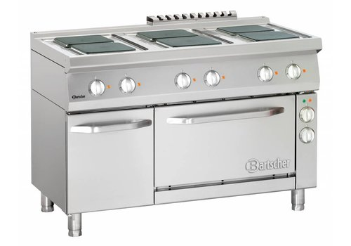 Bartscher Professional stove with oven and base cupboard