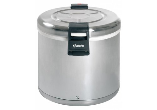 Bartscher Rice Heater Stainless Steel 110 Watt | 8.5 KG Rice