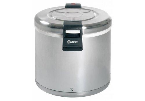 Bartscher Rijstverwarmer Edelstaal 110 Watt | 8,5 KG Rijst