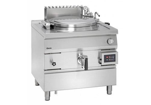 Bartscher Gas boiling kettle, indirect heating, 100 litres