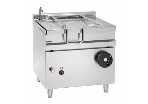 Bartscher Electric tilting frying pan with handwheel tilting device