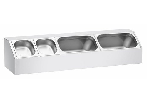 Bartscher GN containers top shelf