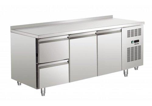 Bartscher Cool Workbench with stainless steel weir | 179 x 70 x 85 cm