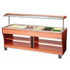 Bartscher Gastro Buffet T Salad Bar 6 x 1/1 GN