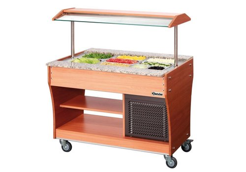Bartscher Gastro Buffet T Salad Bar 3 x 1/1 GN