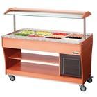 Bartscher Gastro Buffet T Salad Bar 4 x 1/1 GN