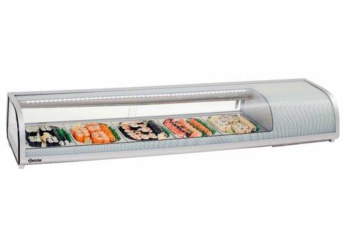 Bartscher Kühlaufsatzvitrine Sushi, 5x1/2GN