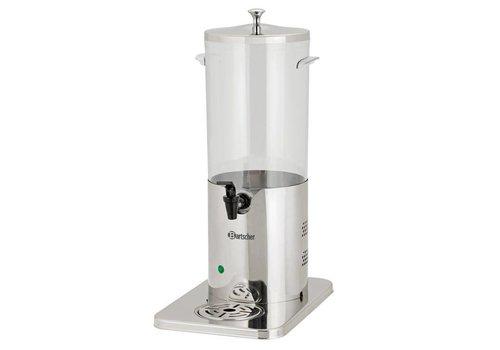 Bartscher Drank-Dispenser DTE5, thermo-elektrische koeling
