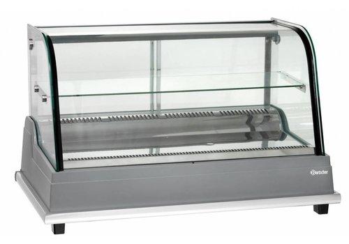 Bartscher Gekoelde vitrine met schuifdeur - 154 Liter