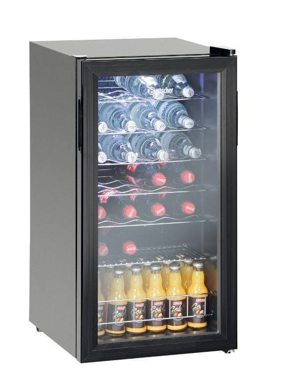 Bartscher flaschen kuhlschrank bar model 88 liter for Kühlschrank abschlie bar