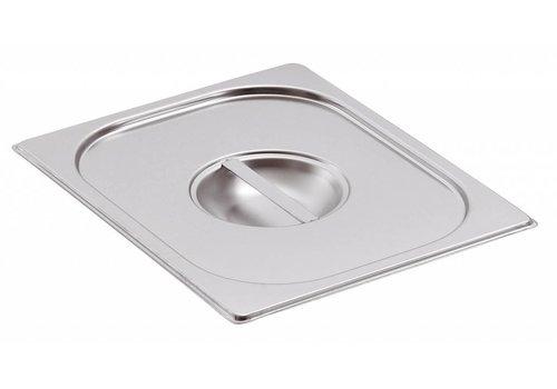 Bartscher Deckel 1/1 GN aus rostfreiem Chrom-Nickel-Stahl