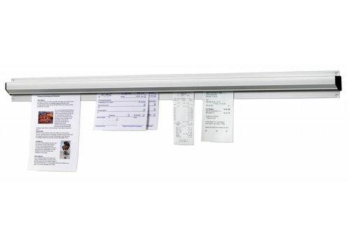 Bartscher Aluminium-Gutschein Halter | 61CM Breite