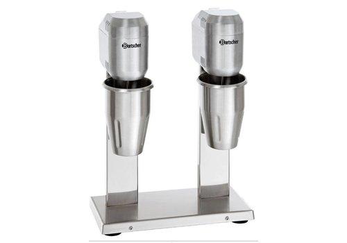 Bartscher Double milkshaker / Double spilmixer - 2 x 1 liter