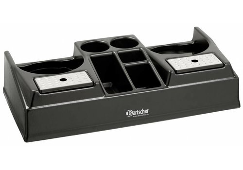 Bartscher Twin coffee station fits 2 thermo pump jugs