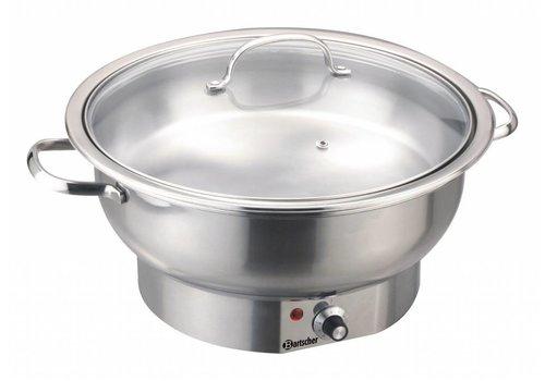 Bartscher Elektrische chafing dish rond