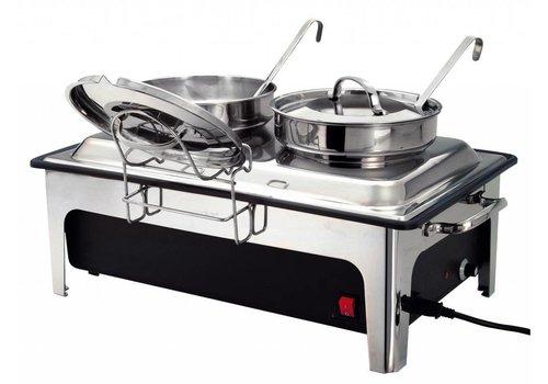Bartscher Elektrische Suppenkessel 2 x 4 Liter