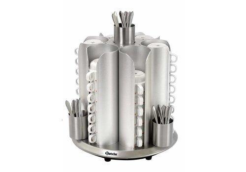 Bartscher Kopjesverwarmer voor 48 kopjes