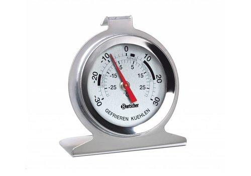 Bartscher Vries en koelkast RVS Temperatuurmeter