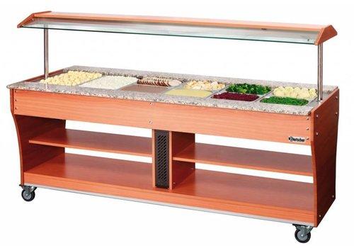 Bartscher Gastro Buffet T - Warmhoudvitrine 6 x 1/1 GN