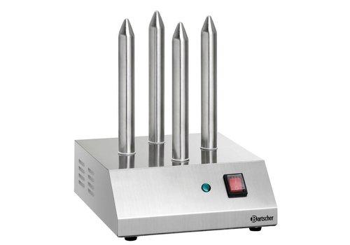 Bartscher Hotdog-Spione Toaster | 4 Toast Rods