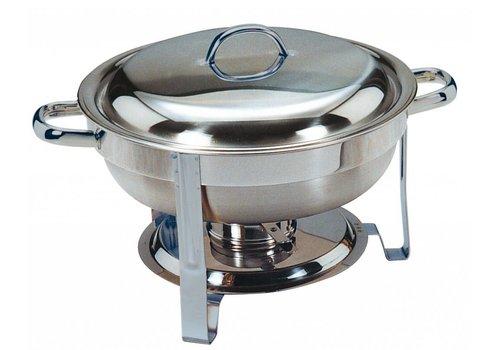 Saro Chafing Dish Rond 4 Liter
