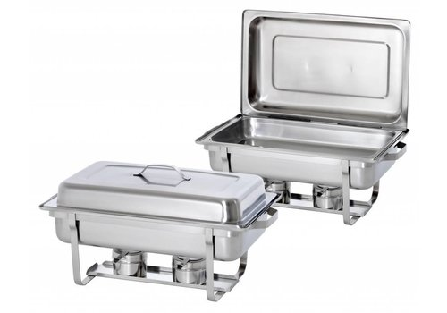 Saro Chafing Dish 1/1 GN x Twin Pack