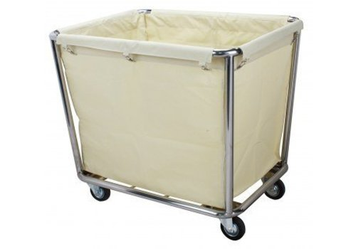 Saro Laundry bag trolley - stainless steel