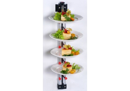 Saro Plate rack suitable for wall mounting | 9 Signs