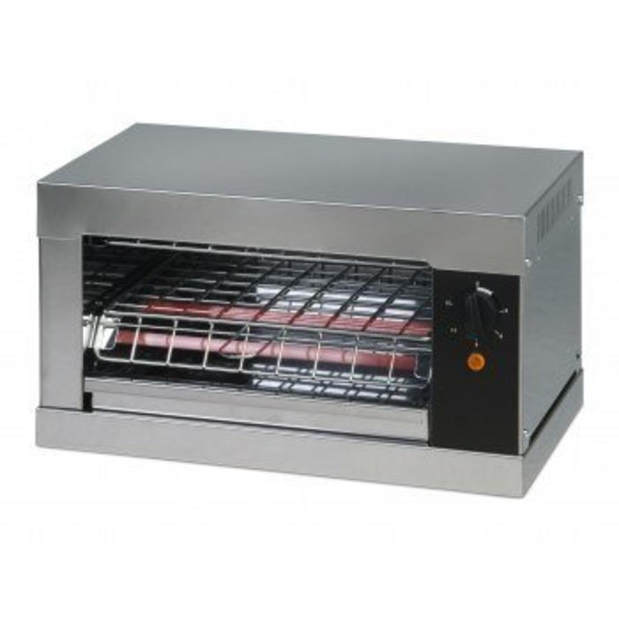 Toaster met Quartz elementen