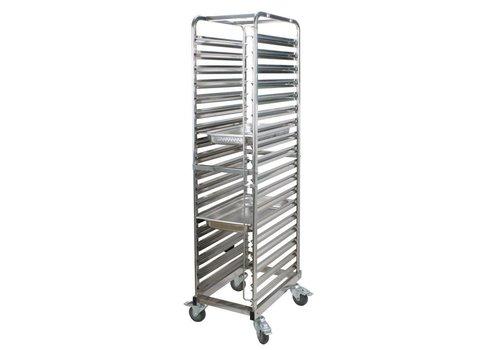 Saro Trolley für 18 x 1/1 GN-Behälter | 53 x 32,5 cm